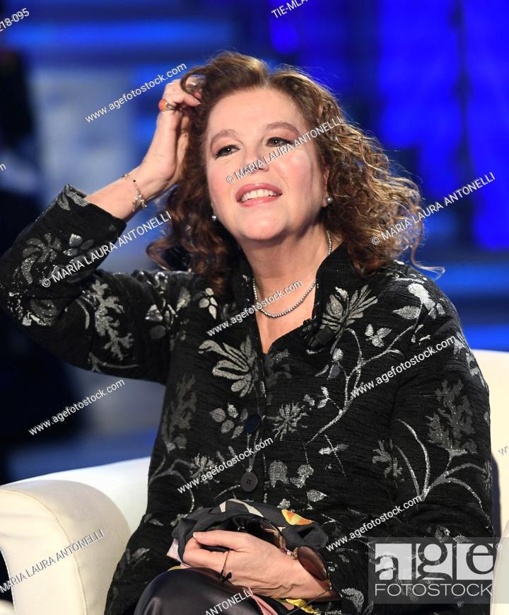 Imagen: Stefania Sandrelli during the tv show Domenica in, Rome, ITALY-02-12-2018.