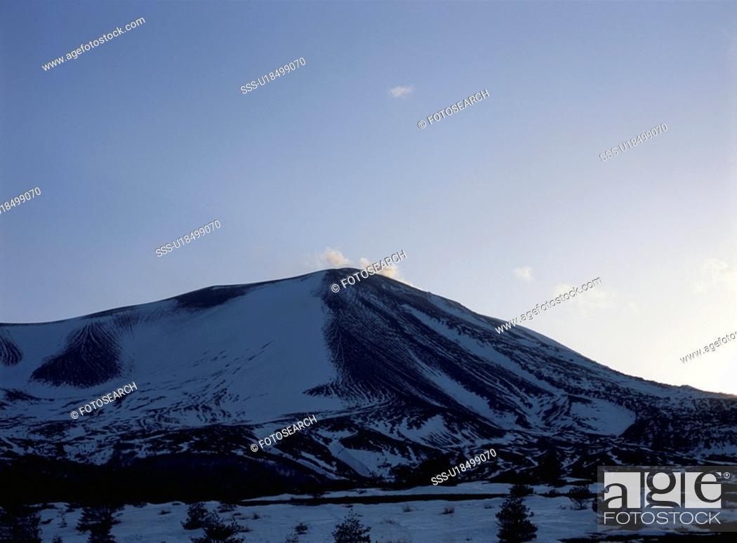 Stock Photo: Mt. Asama.
