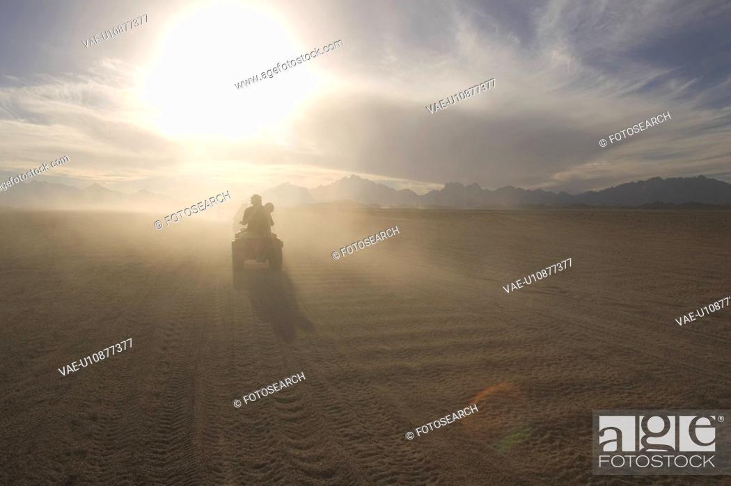 Stock Photo: Bright, Cloud, Day, Desert, Dirt.