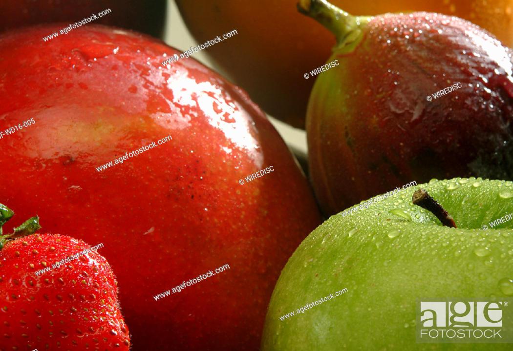 Stock Photo: Food, fruit, apple.