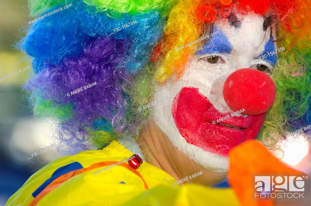 Stock Photo: Clown.