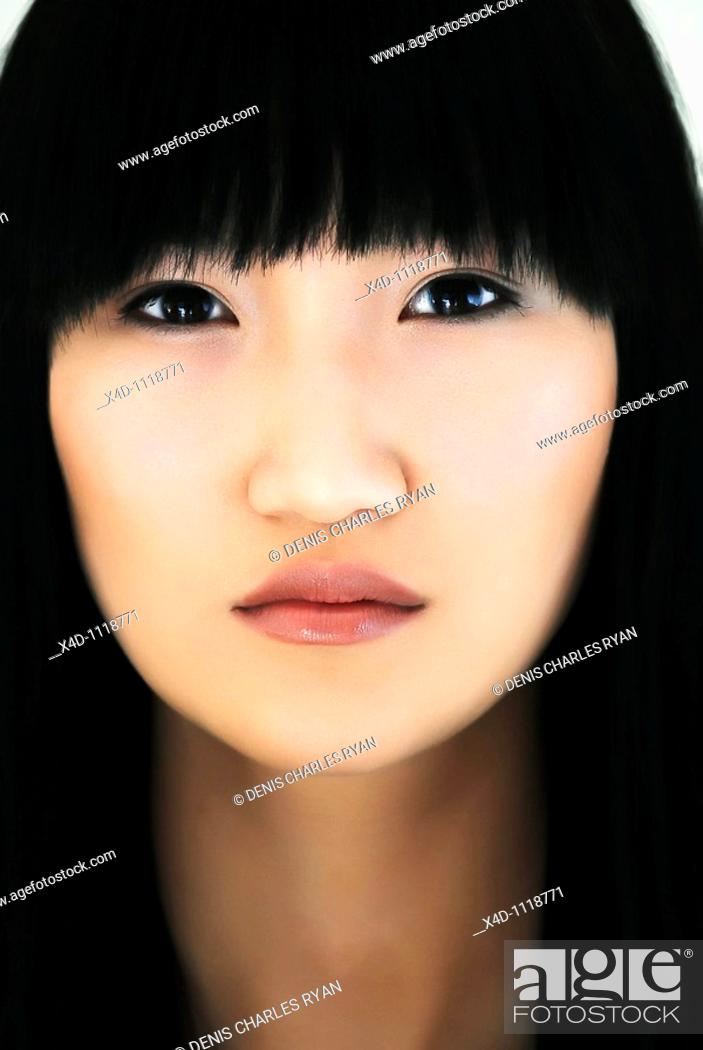Stock Photo: Asian woman.