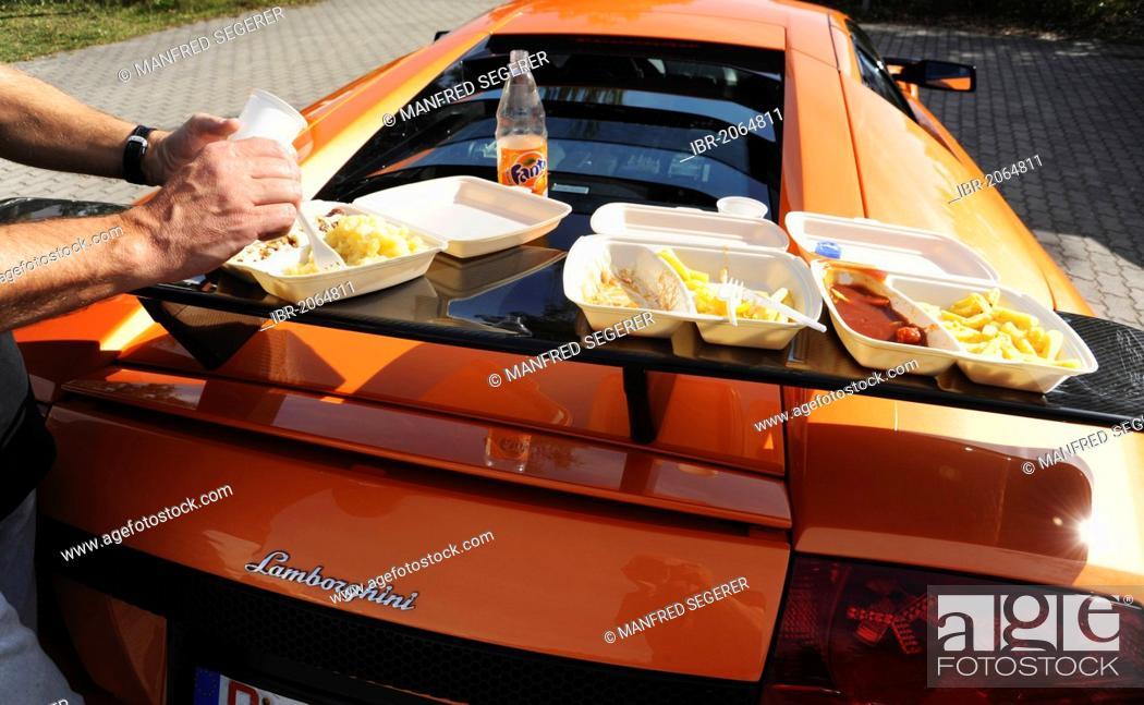 Rear Wing Of A Imsa Lamborghini Murcielago Gtr Turned Into A Table