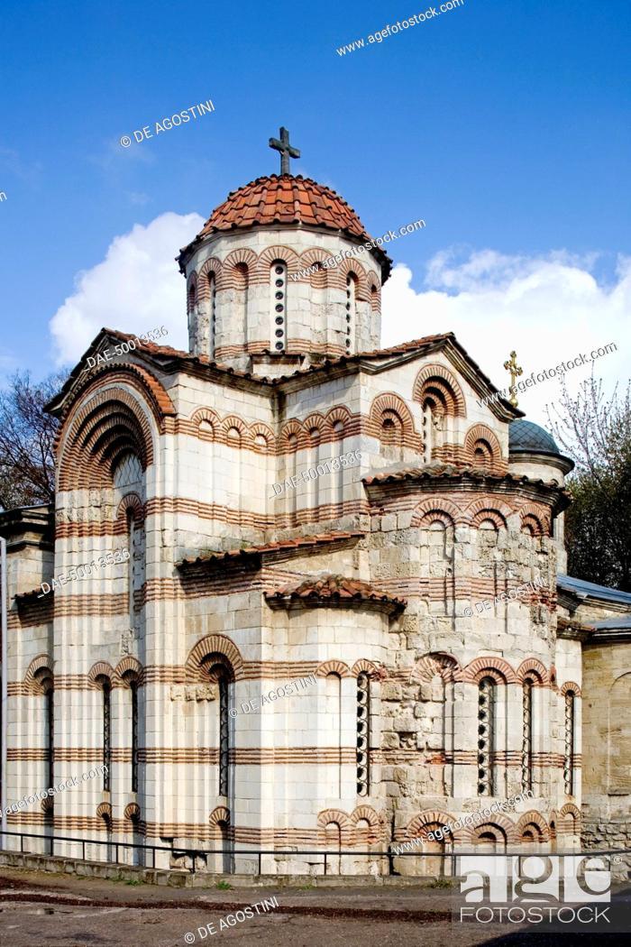 Imagen: The Church of St John the Baptist, founded in 717, Kerch, Crimea, Ukraine.