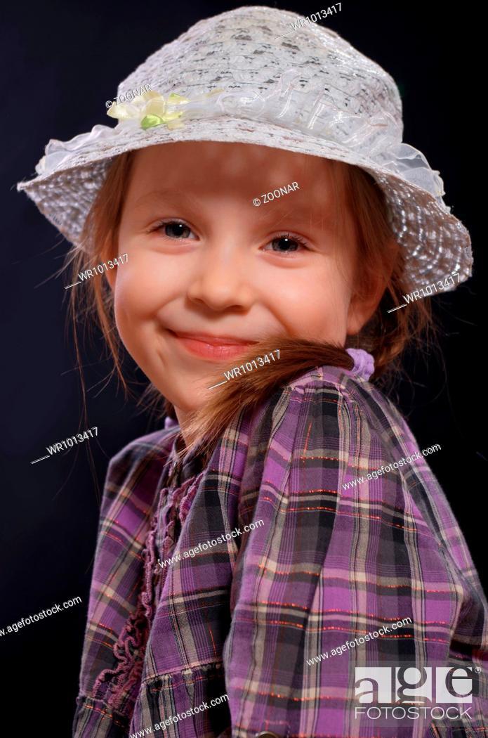 Stock Photo: Little girl.