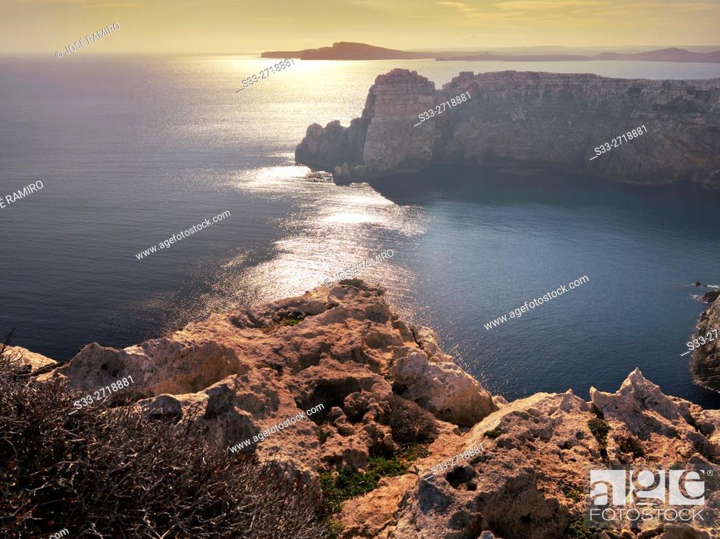 Stock Photo: Cap Roig. Menorca. Islas Baleares. Spain. Europe.