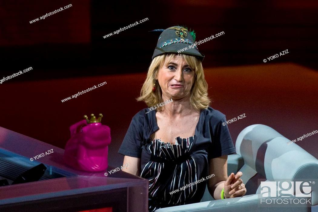 Imagen: 08 05 2011, Milan, 'Che tempo che fa' RAI 3 telecast  Luciana Littizzetto.