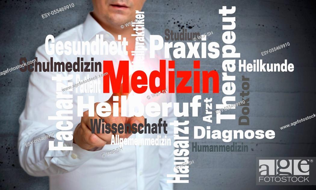 Stock Photo: medicine, Word Cloud.