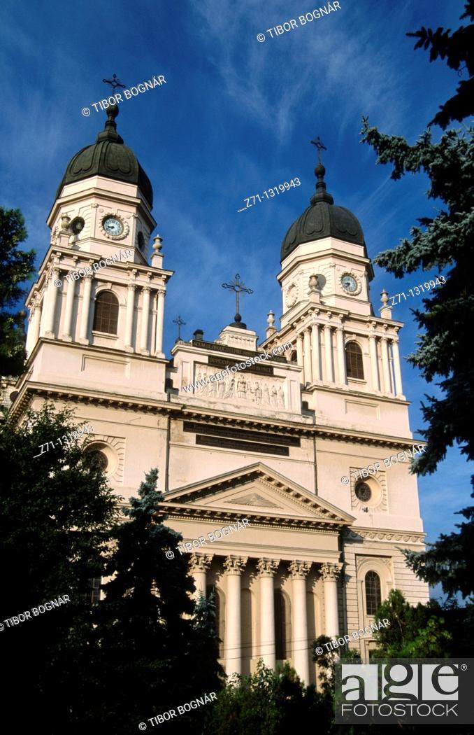 Stock Photo: Romania, Iasi, Metropolitan Cathedral.