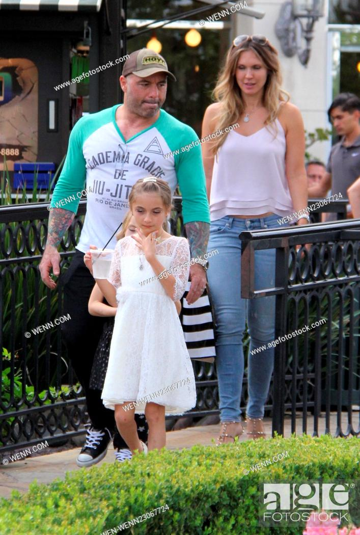 UFC commentator Joe Rogan out and about in Beverly Hills with his