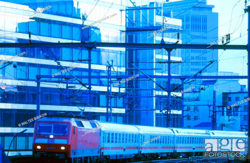 Zoo Main Train Station Bahnhof Zoo Berlin Germany Stock Photo