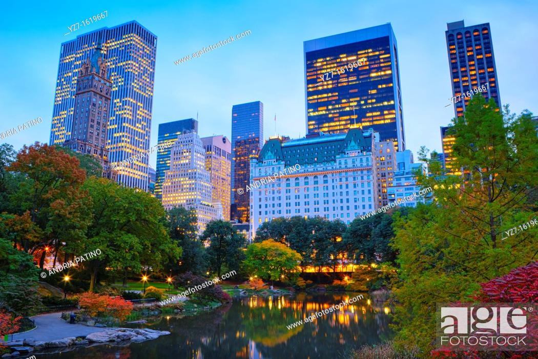 Stock Photo: Plaza Hotel on Central Park South, New York.