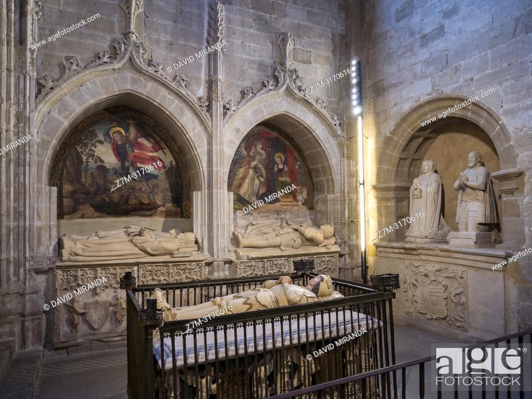 Imagen: Capilla de San Juan. Catedral del Salvador de Santo Domingo de la Calzada. La Rioja. Spain.
