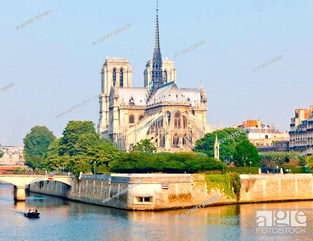 Stock Photo: Notre Dame de Paris.