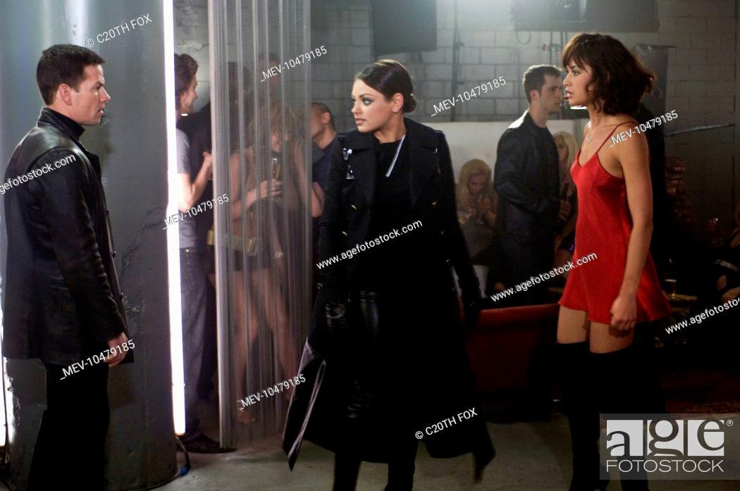 Max Payne Mark Wahlberg Mila Kunis Olga Kurylenko Stock Photo