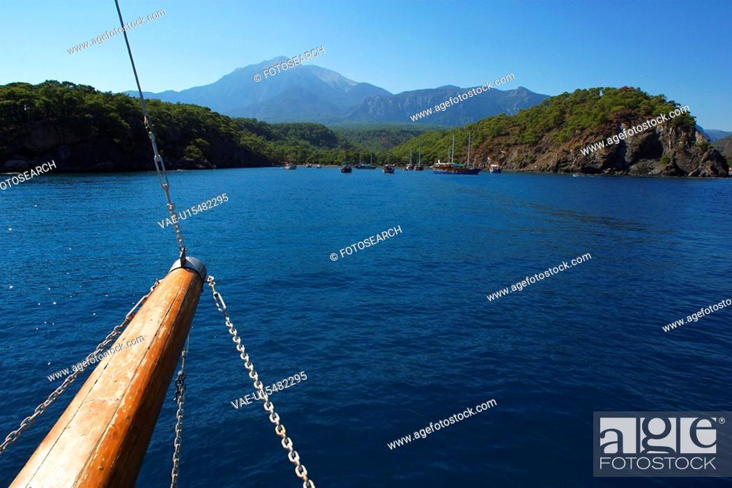 Stock Photo: Natural, Outdoors, Day, Lake, River, Water.