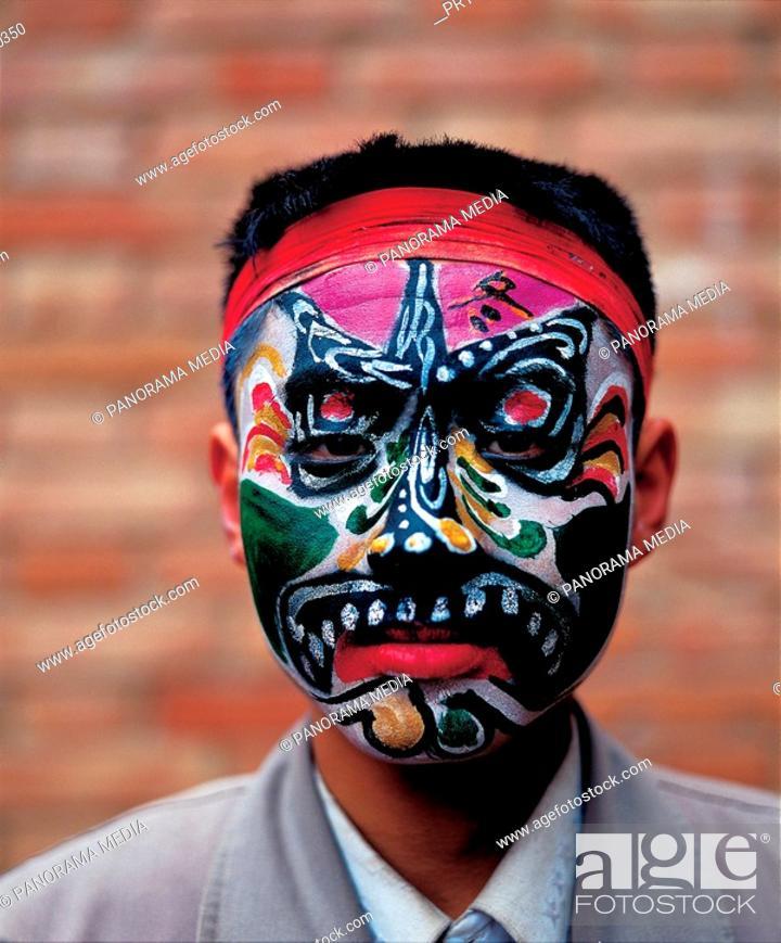 Stock Photo: painting mask,China.