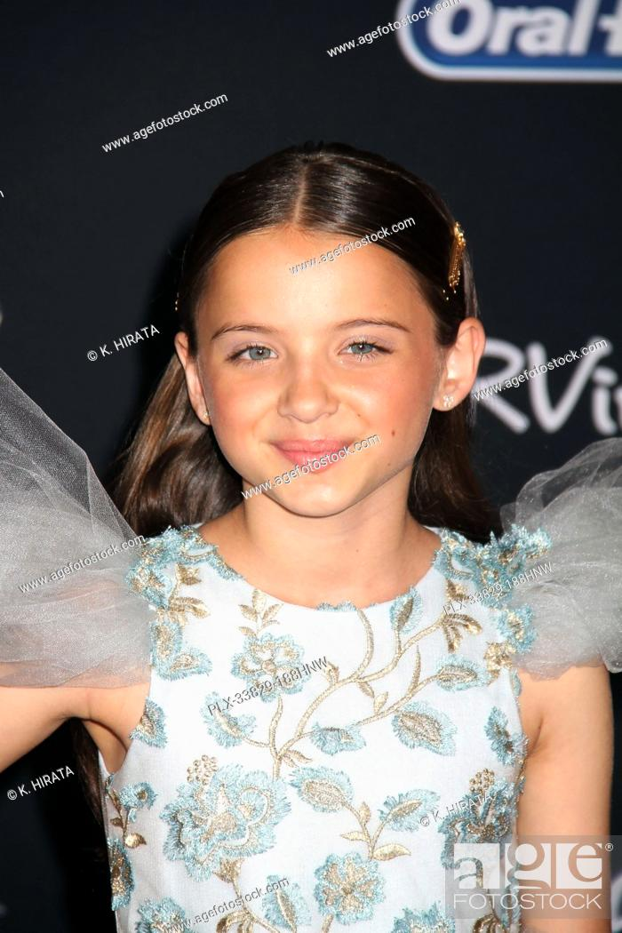 """Stock Photo: Madeleine McGraw 06/11/2019 """"""""Toy Story 4"""""""" Premiere held at the El Capitan Theatre in Hollywood, CA Photo by K. Hirata / HNW / PictureLux."""