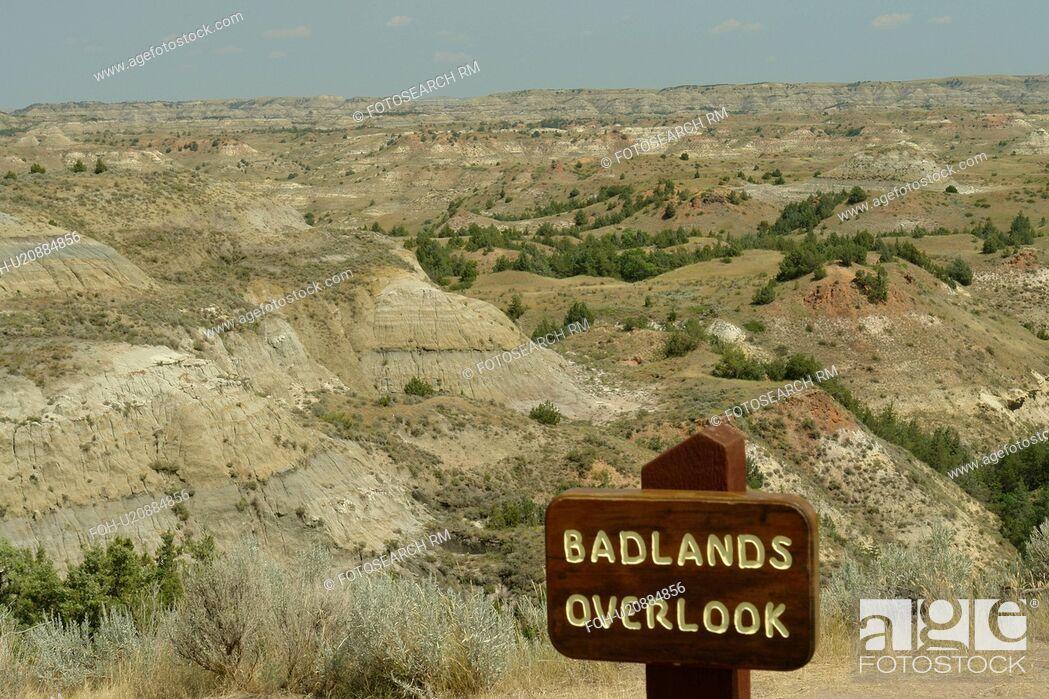 Medora ND North Dakota Theodore Roosevelt National Park South