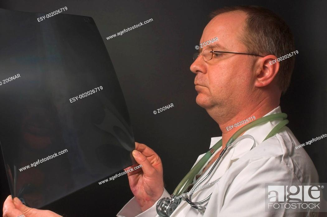 Stock Photo: Doctor X-ray.