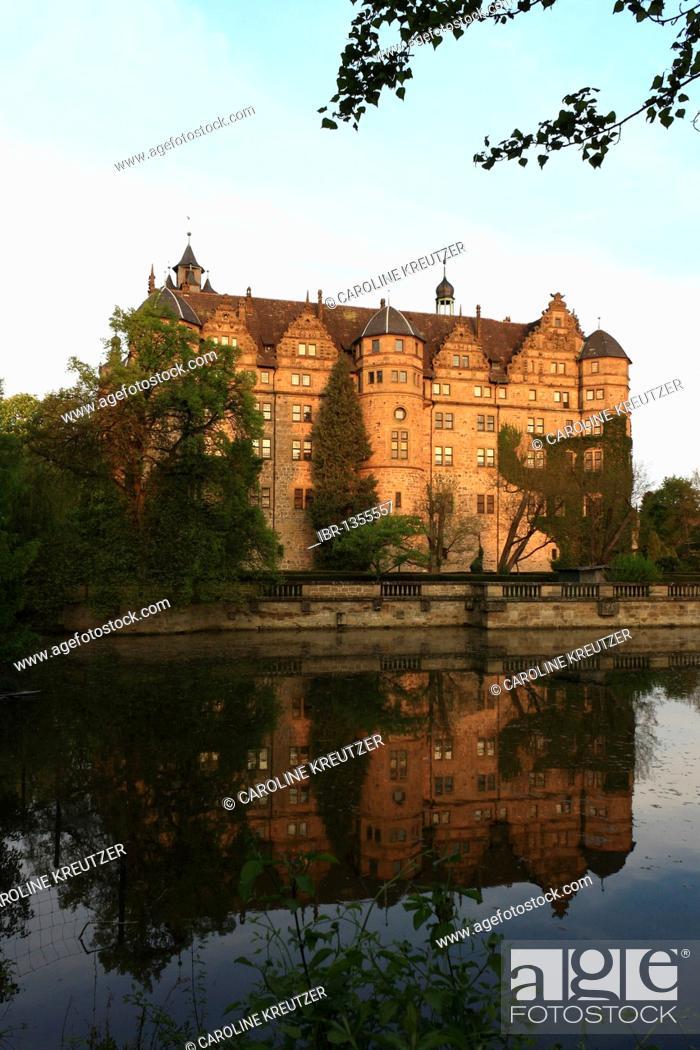 Neuenstein Castle Originally A Moated Castle Of The Hohenstaufen