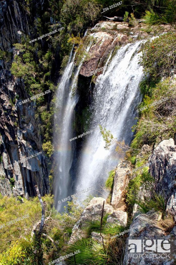 Imagen: Minyon Falls, Nightcap National Park, NSW, Australia.