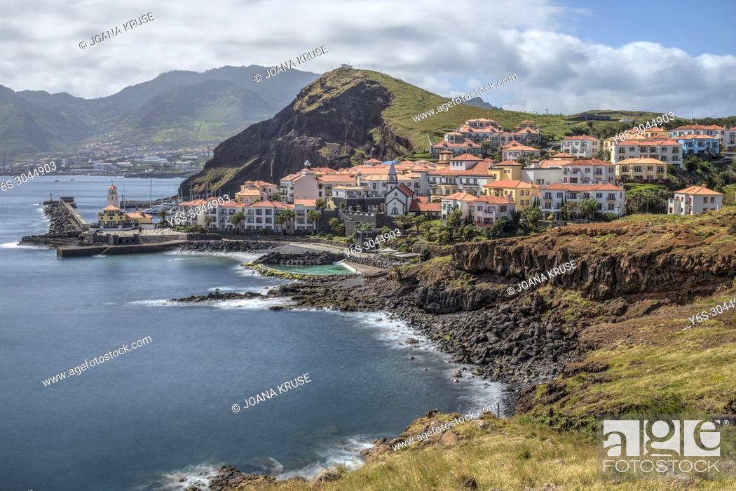 Stock Photo: Ponta de Sao Lourencao, Canical, Machico, Madeira, Portugal, Europe.