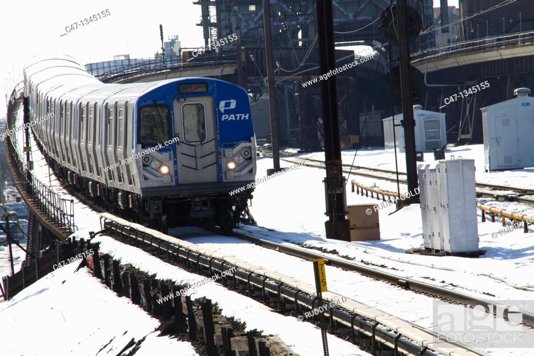 Stock Photo: PATH Train.