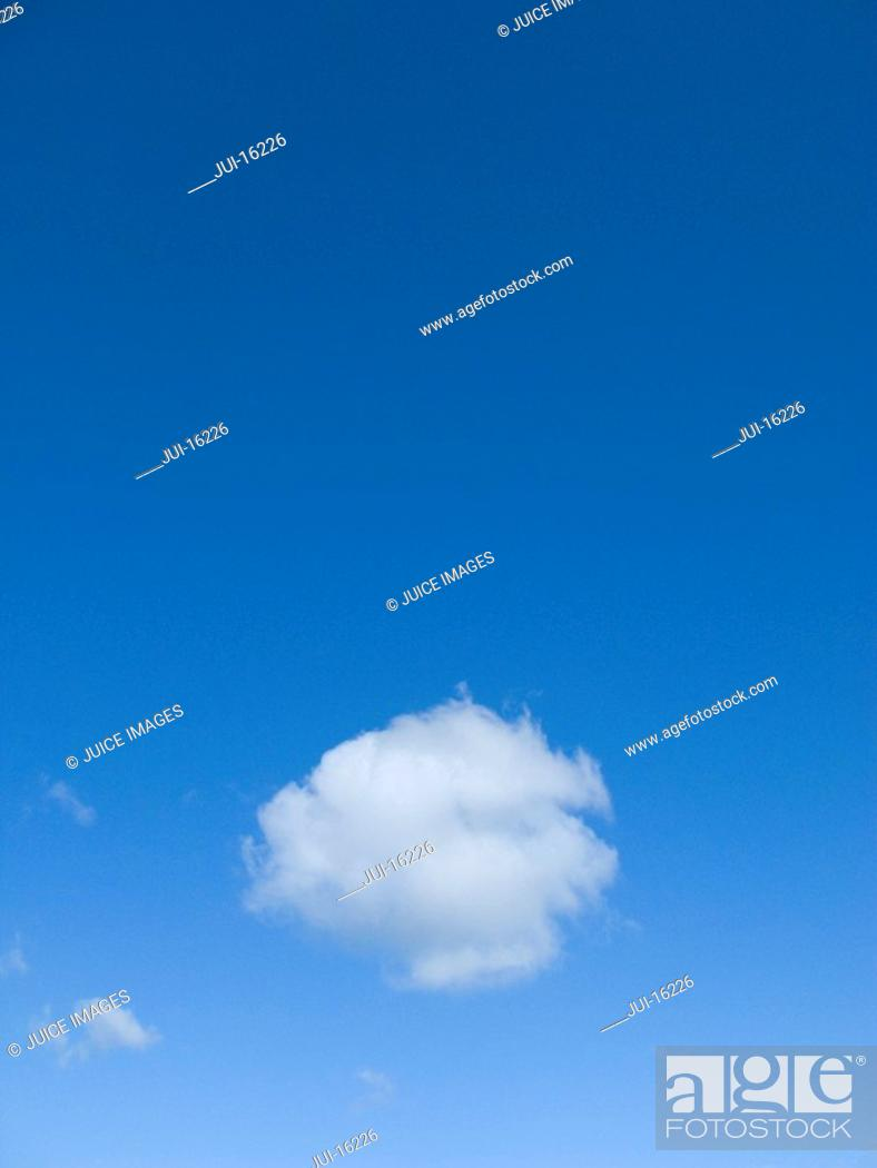 Stock Photo: Blue sky and clouds.