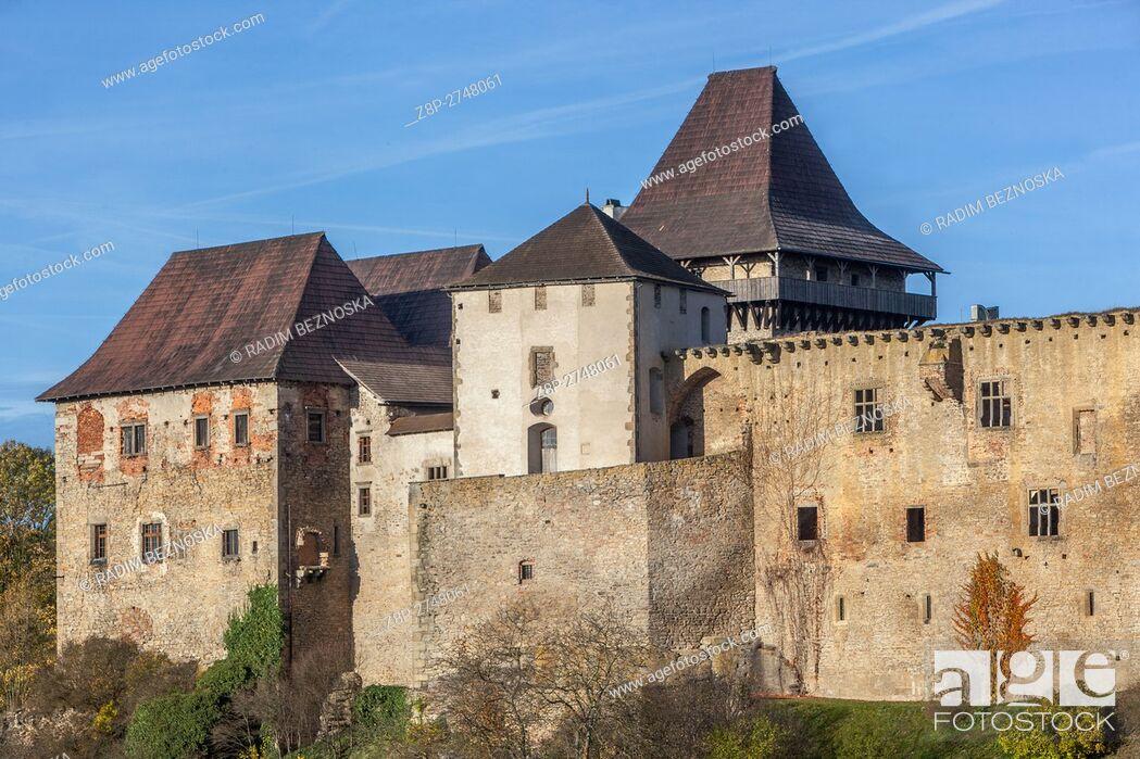 Imagen: Czech Republic, Lipnice Castle, one of the mightiest Czech aristocratic castles, Vysocina region.