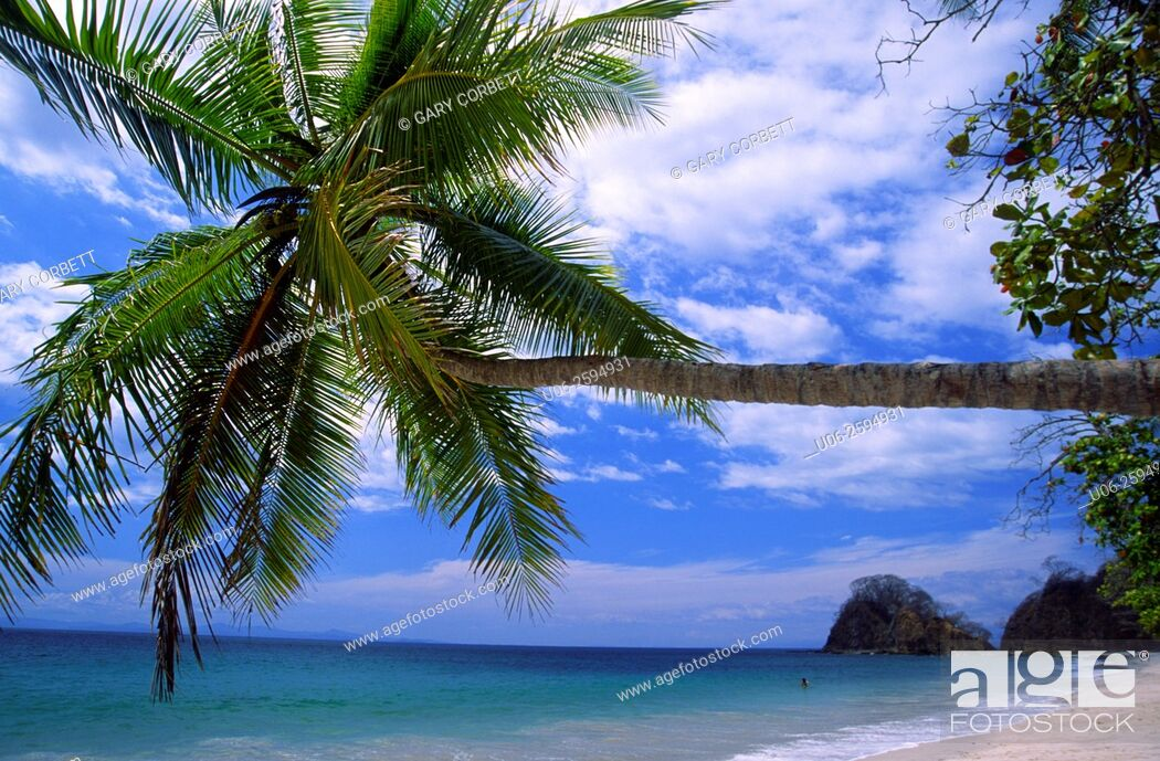 Stock Photo: Punta Leona beach on the Pacific coast of Costa Rica.