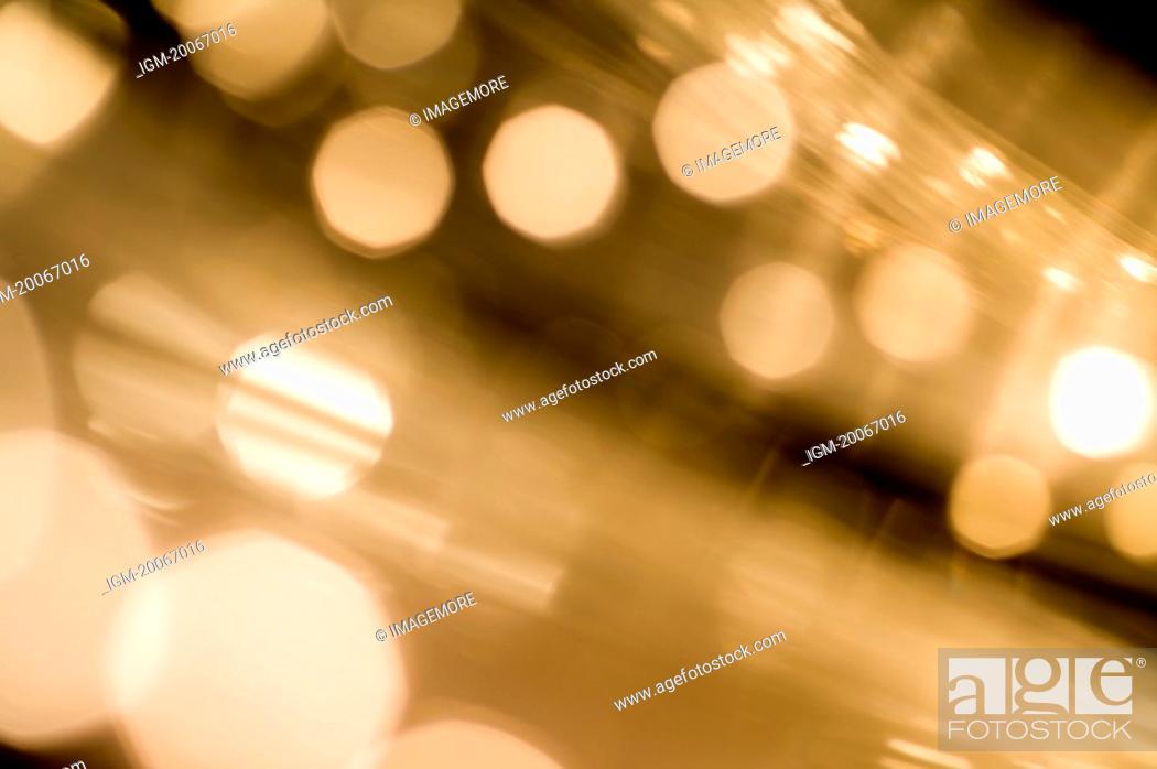 Stock Photo: Optical Fiber.