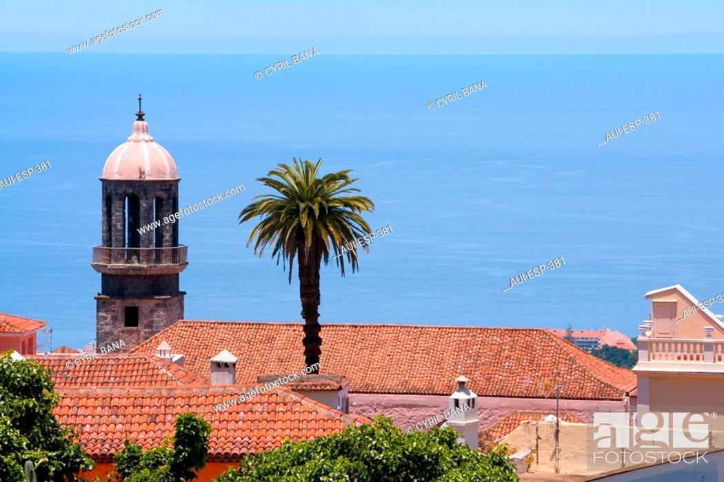Stock Photo: Spain - Canary Islands - Tenerife - La Orotava.