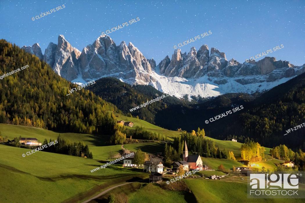 Imagen: Santa Maddalena (Val di Funes)-Trentino Alto Adige, Italy.