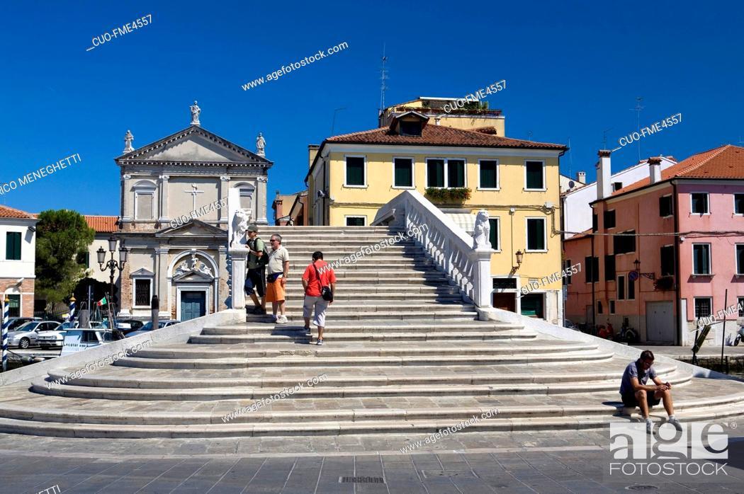 Photo de stock: Santa Croce Church, Chioggia, Veneto, Italy.