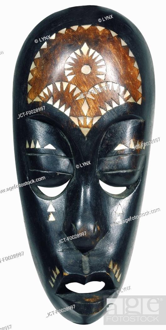 Stock Photo: World symbols: Mask Tanzania.