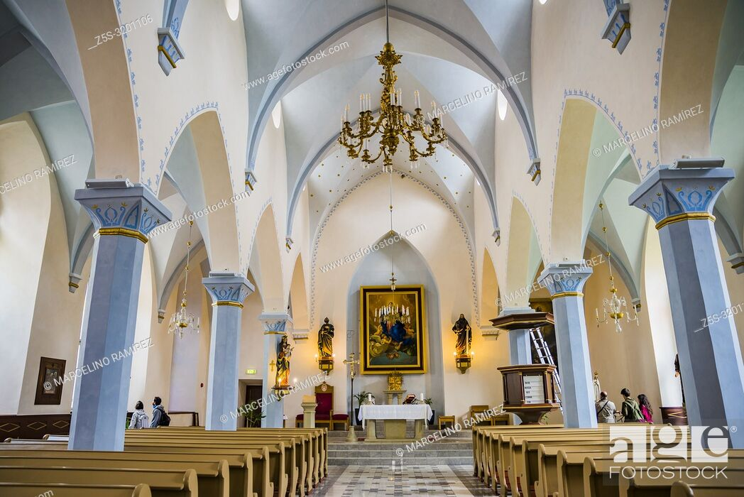 Stock Photo: St. Peter and St. Paul's Cathedral, Tallinn, Harju County, Estonia, Baltic states, Europe.