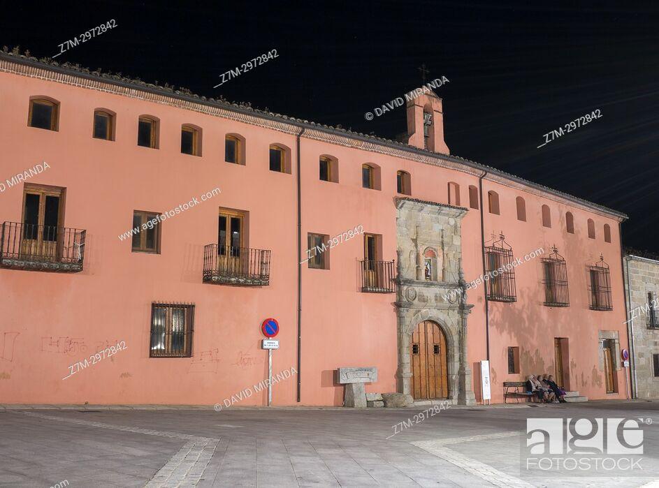 Imagen: Antiguo hospital de San Andrés. Mombeltrán. Barranco de las cinco villas. Valle del Tiétar. Provincia de Ávila, Castile-Leon, Spain.