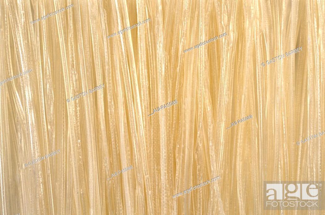 Stock Photo: Pasta - Banh Canh Kho - Asian Noodles.