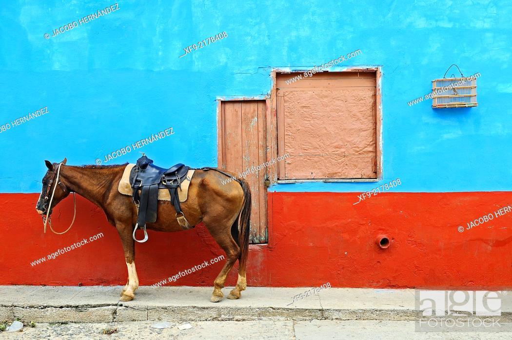 Stock Photo: Trinidad.Sancti Spíritus province.Cuba.