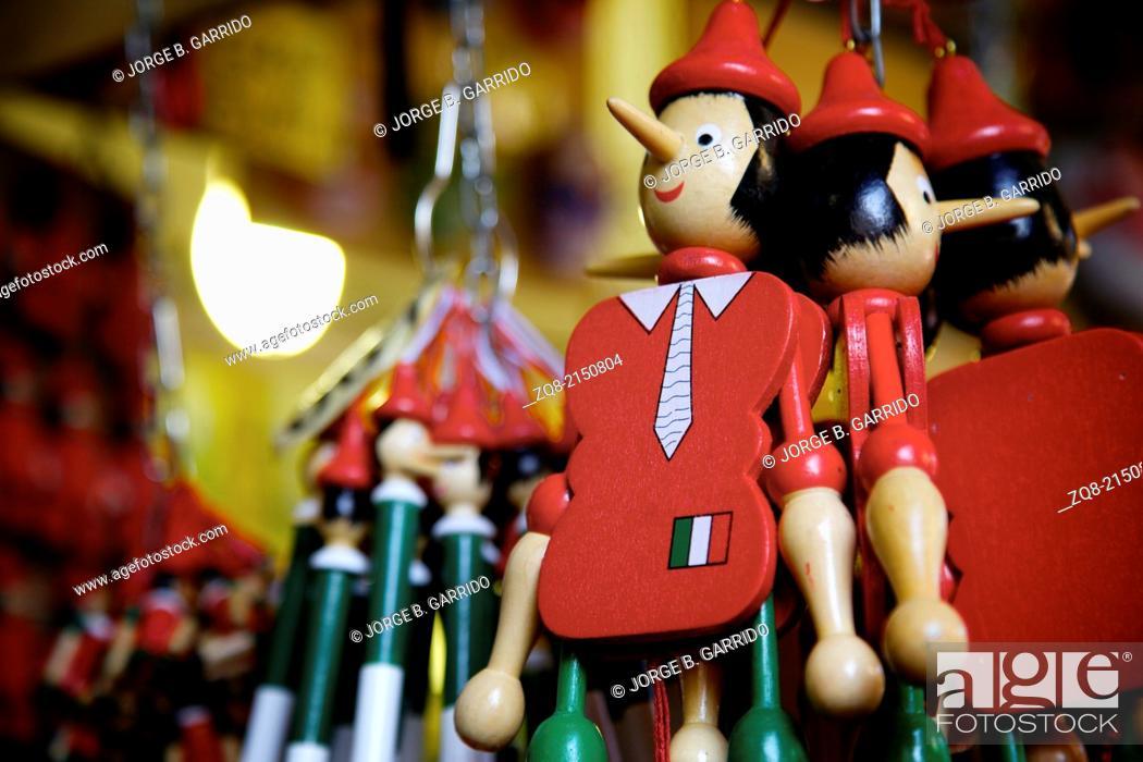 Stock Photo: Pinocchio.