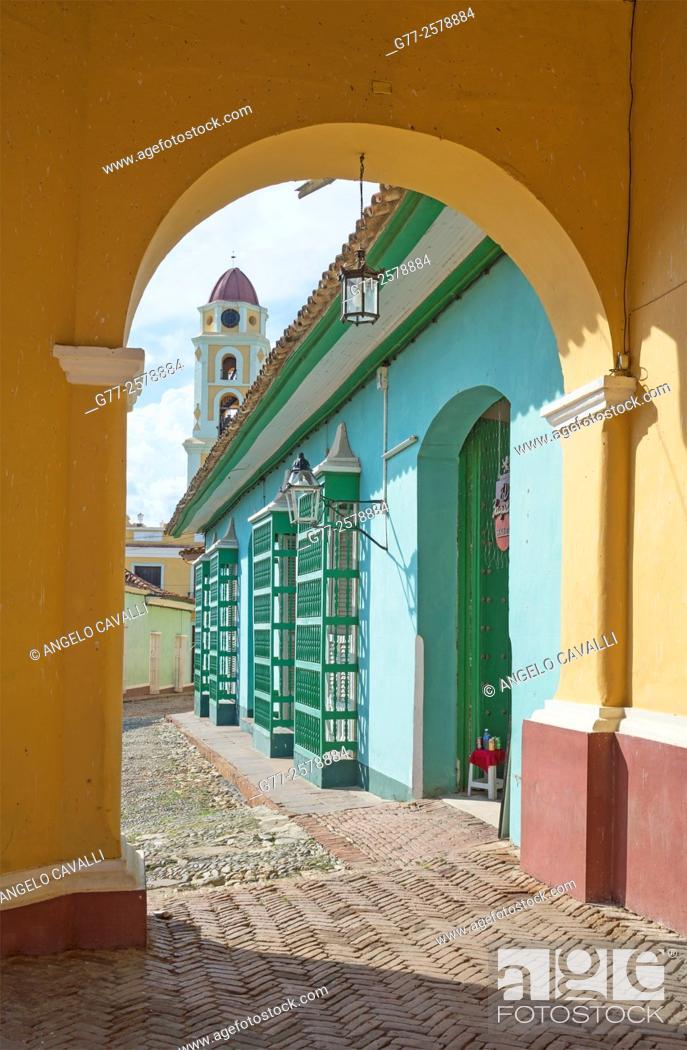 Stock Photo: Trinidad, province  of Sancti Spiritus, Cuba.