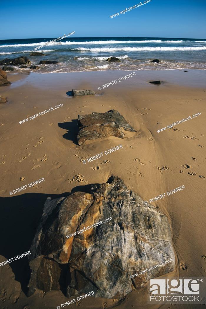 Stock Photo: Sunshine beach at Noosa, Sunshine Coast, Queensland, Australia.
