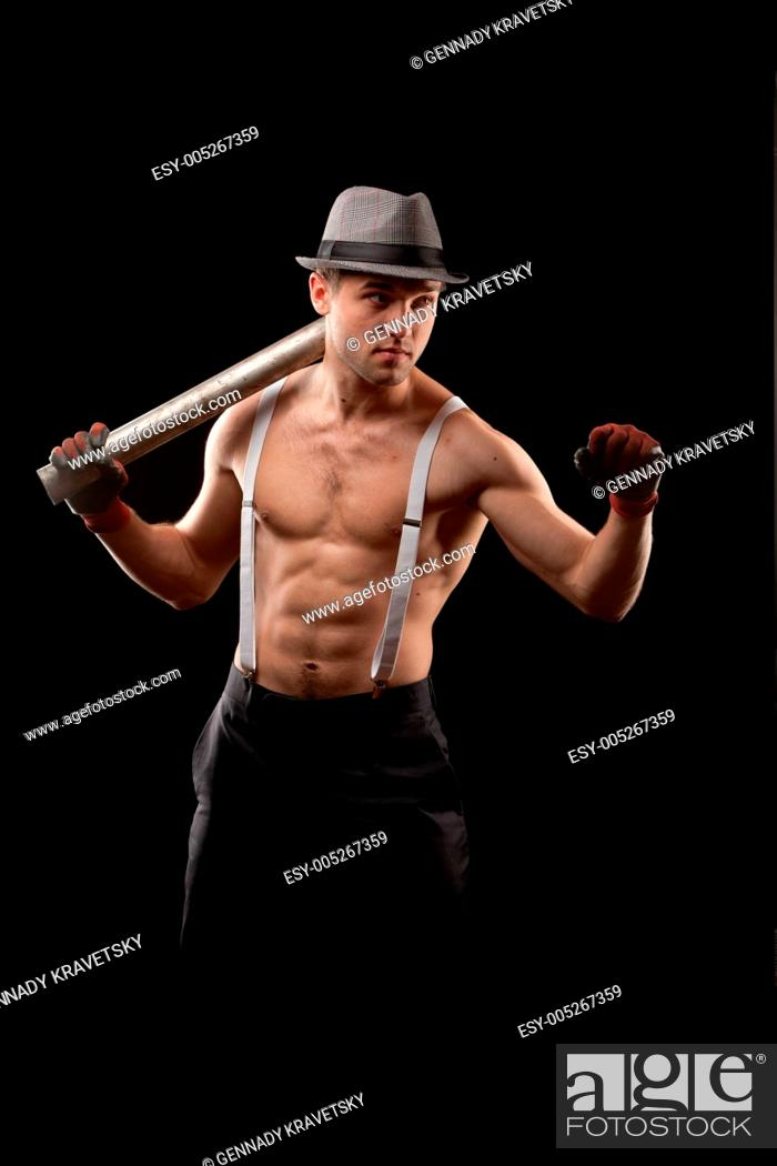 Stock Photo: fighter.
