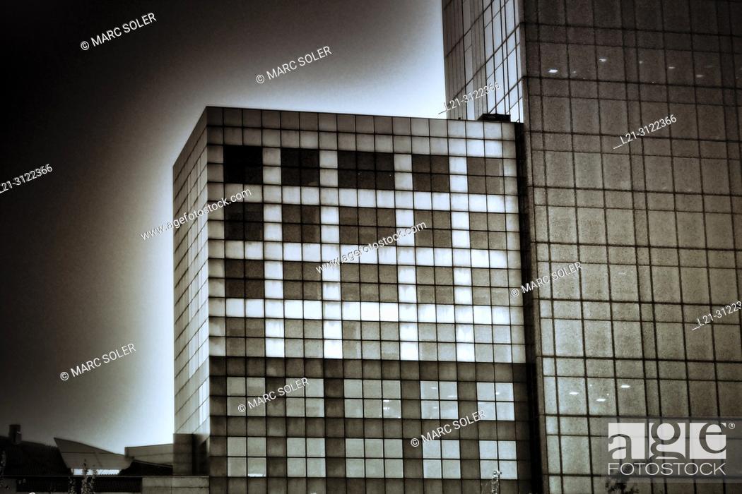 Stock Photo: Architecture. Barcelona, Catalonia, Spain.