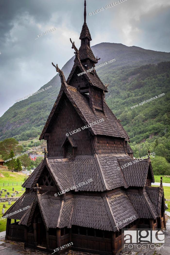Imagen: Borgund Stave Church, Sogn og Fjordane, Norway.