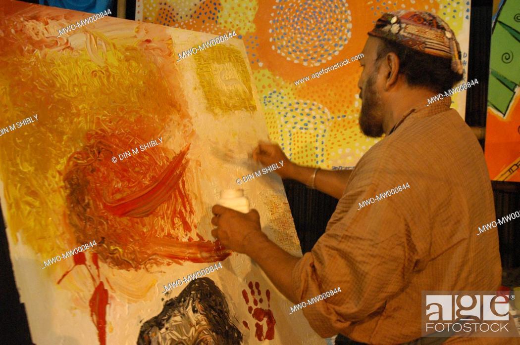 Kalidas Karmakar, one of the legendary artist in Bangldesh, Stock