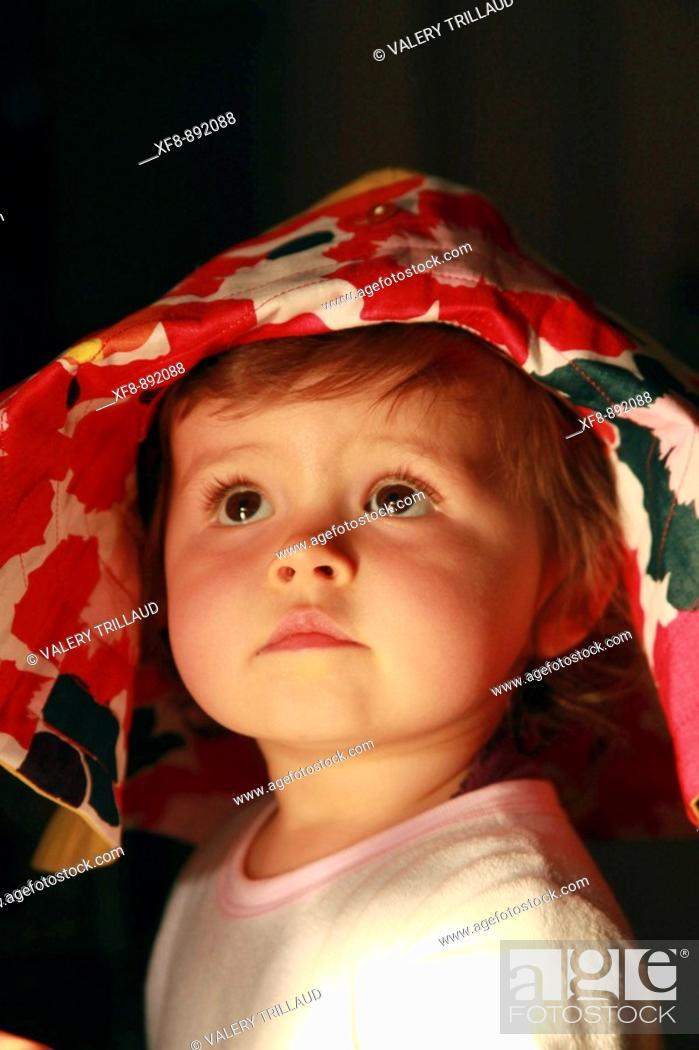 Stock Photo: Faustine 15 months old.