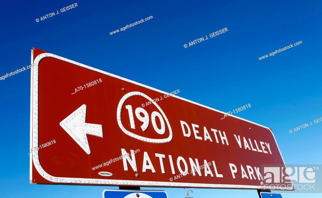 Stock Photo: Death valley national park USA California.