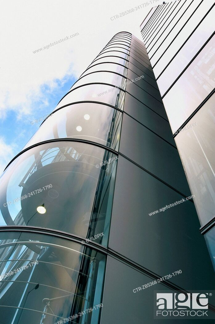 Imagen: Architecture detail of a modern building.